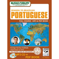 FSI: Spanish to Brazilian Portuguese (MP3/PDF)