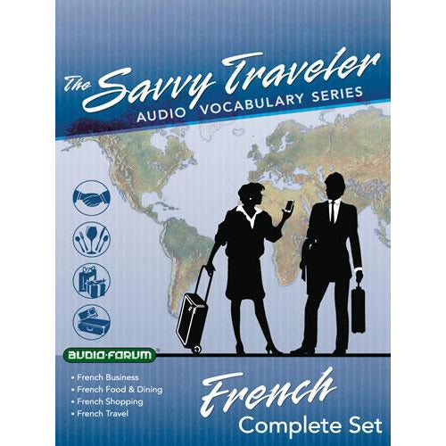 Savvy Traveler French Complete Set (6 CDs)