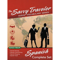 Savvy Traveler Spanish Complete Set (6 CDs)