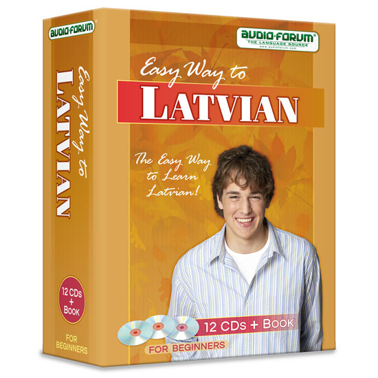 Easy Way to Latvian (12 CDs/Book)