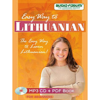 Easy Way to Lithuanian (MP3/PDF)