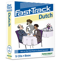 Fast-Track Dutch (5 CDs/Book)