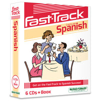 Fast-Track Spanish (6 CDs/Book)