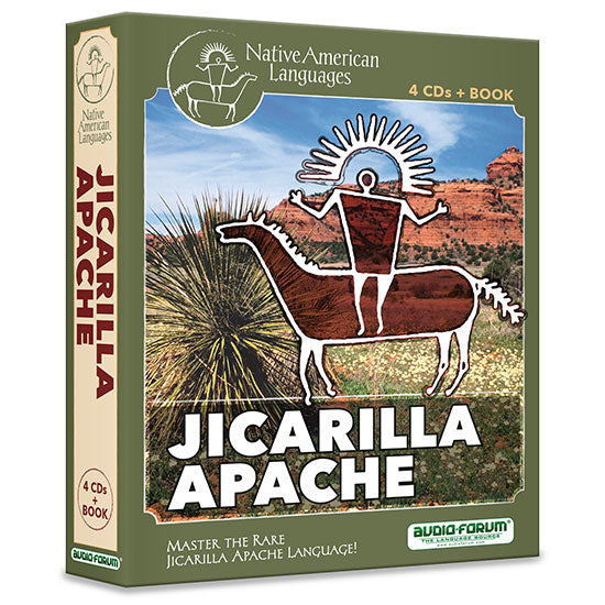 Jicarilla Apache (4 CDs/Book)