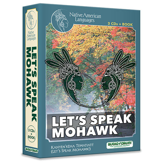 Let's Speak Mohawk (3 CDs/Book)