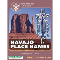 Navajo Place Names (MP3/PDF)