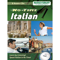 No Time Italian (8 CDs)