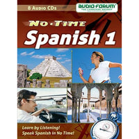 No Time Spanish 1 (8 CDs)