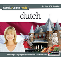 Speak & Learn Dutch (2 CDs)