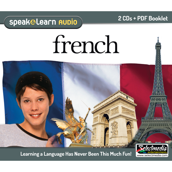 Speak & Learn French (Audio Download)