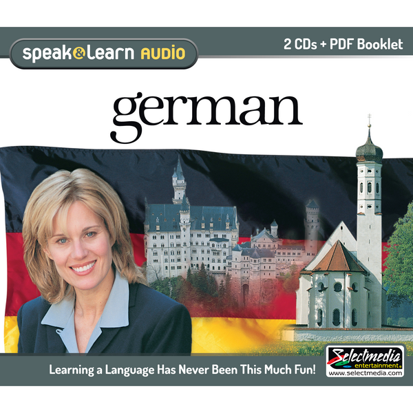 Speak & Learn German (Audio Download)