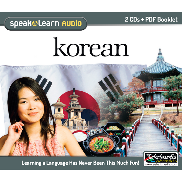 Speak & Learn Korean (Audio Download)