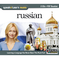 Speak & Learn Russian (Audio Download)