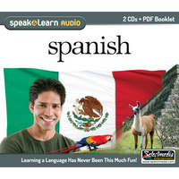 Speak & Learn Spanish (2 CDs)