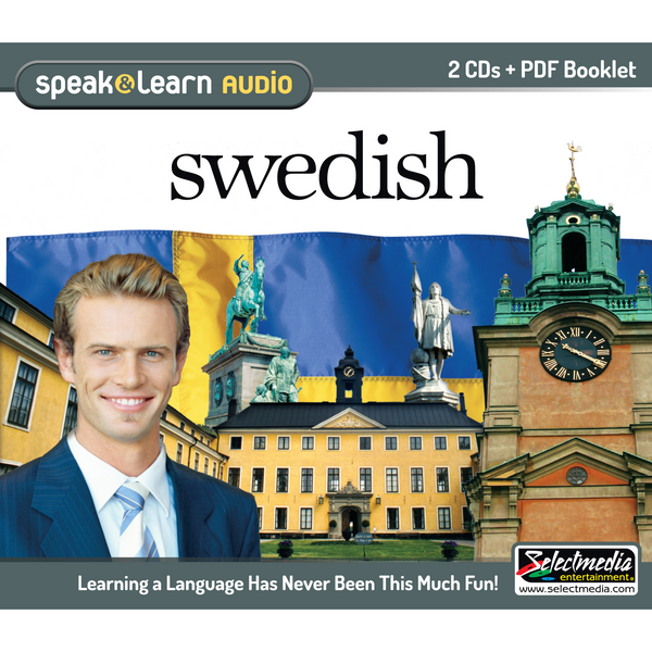 Speak & Learn Swedish (Audio Download)