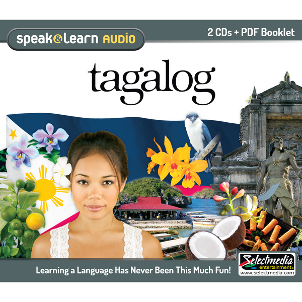 Speak & Learn Tagalog (Audio Download)