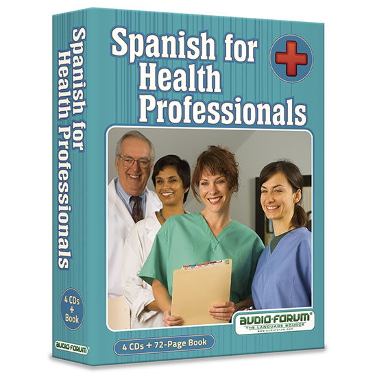 Spanish for Health Professionals (4 CDs/Book)