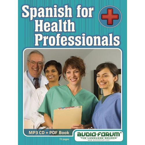Spanish for Health Professionals (MP3/PDF)