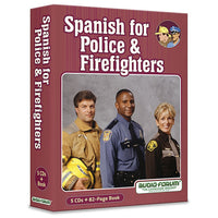 Spanish for Police and Firefighters (5CDs/Book)