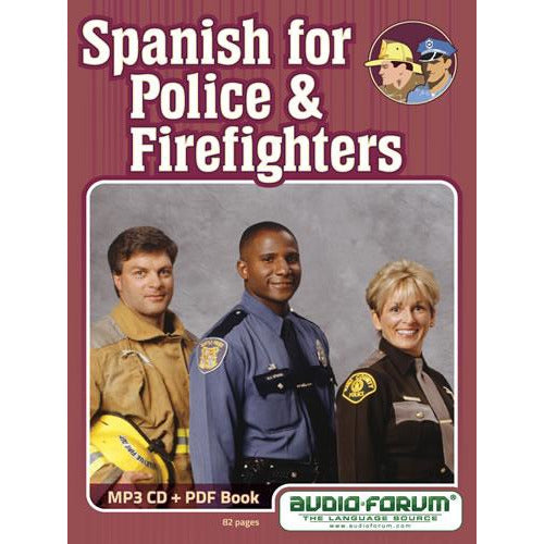 Spanish for Police and Firefighters (MP3/PDF)