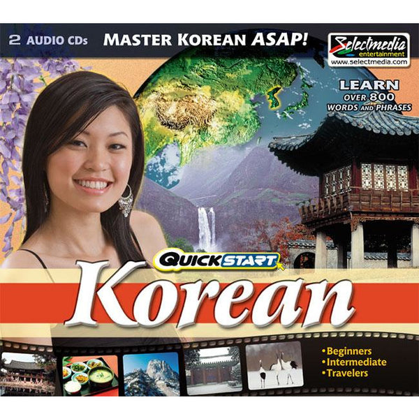 Quickstart Korean (2 CDs)