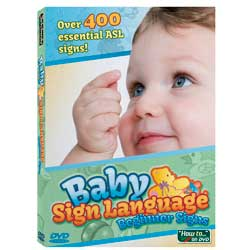 Baby Sign Language Beginner Signs