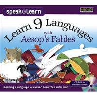 Learn 9 Languages with Aesop's Fables