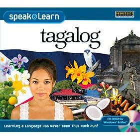 Speak & Learn Tagalog (Software Download)