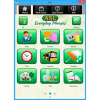 ASL Everyday Phrases (Software Download)