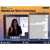 Quickstart American Sign Language