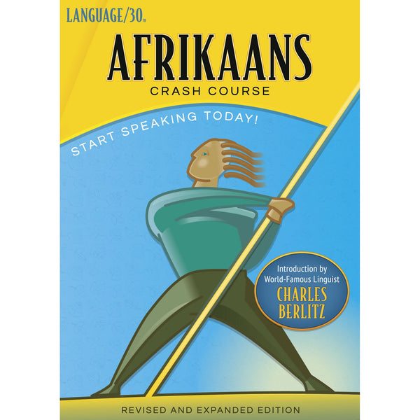 Afrikaans Crash Course by LANGUAGE/30 (2 CDs)