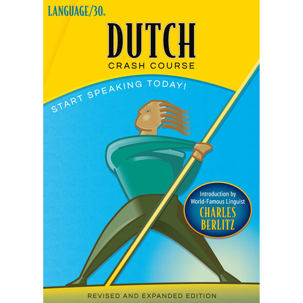 Dutch Crash Course by LANGUAGE/30 (2 CDs)