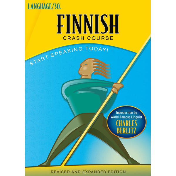 Finnish Crash Course by LANGUAGE/30 (2 CDs)