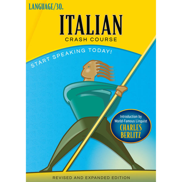 Italian Crash Course by LANGUAGE/30 (2 CDs)