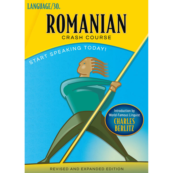 Romanian Crash Course by LANGUAGE/30 (2 CDs)