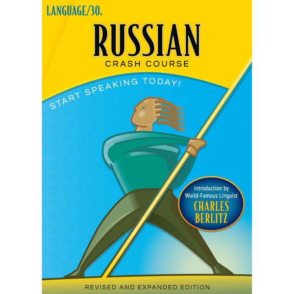 Russian Crash Course by LANGUAGE/30 (2 CDs)
