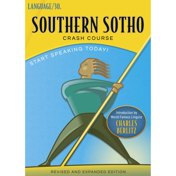 Southern Sotho Crash Course by LANGUAGE/30 (2 CDs)