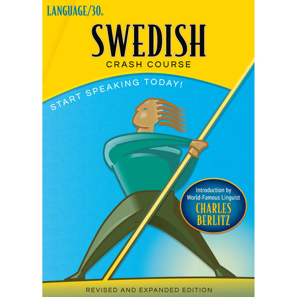 Swedish Crash Course by LANGUAGE/30 (2 CDs)