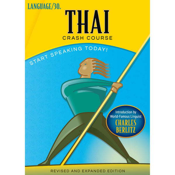 Thai Crash Course by LANGUAGE/30 (2 CDs)
