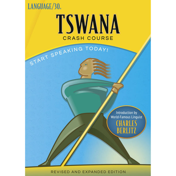 Tswana Crash Course by LANGUAGE/30 (2 CDs)