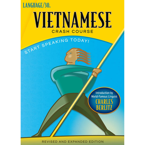 Vietnamese Crash Course by LANGUAGE/30 (2 CDs)