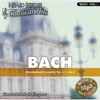 Heard Before Classical Hits: Bach Vol. 1 (Download)