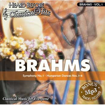 Heard Before Classical Hits: Brahms Vol. 1 (Download)