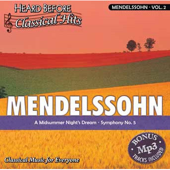 Heard Before Classical Hits: Mendelssohn Vol. 2 (Download)