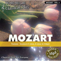 Heard Before Classical Hits: Mozart Vol. 3