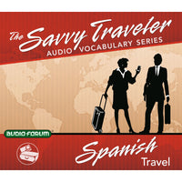Savvy Traveler Spanish Travel (CD)