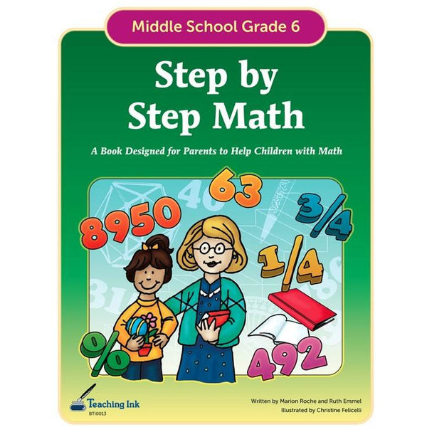 Step by Step Math (Gr. 6) - PDF DOWNLOAD
