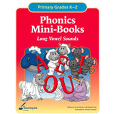 Phonics Mini Books - Long Vowel Sounds (Gr. K-2) - PDF DOWNLOAD
