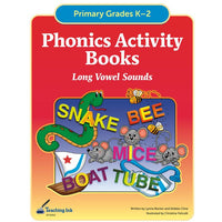 Phonics Activity Books - Long Vowels (Gr. K-2) - PDF DOWNLOAD