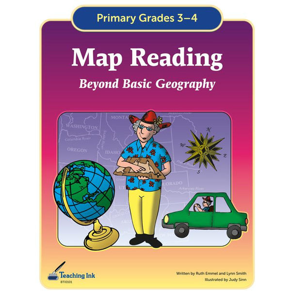 Map Reading (Gr. 3-4) - PDF DOWNLOAD